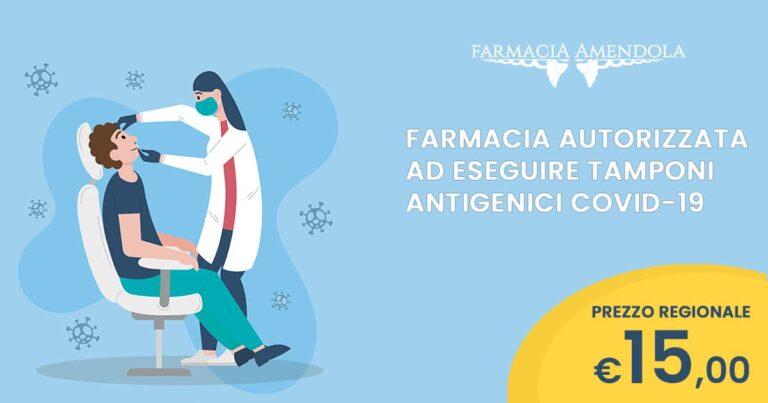Tamponi in Farmacia a Palermo